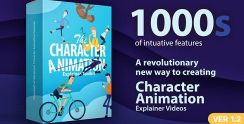 Character Animation Explainer Toolkit – 23819644