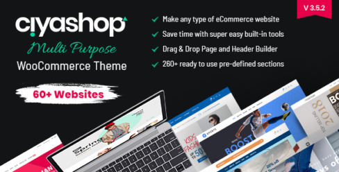 CiyaShop – Responsive Multi-Purpose WooCommerce WordPress Theme – 22055376