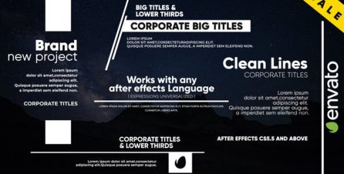 Clean Lines – Big Titles – 22953508