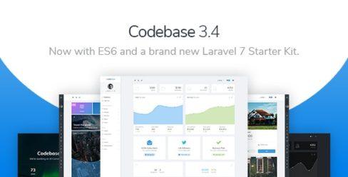 Codebase – Bootstrap 4 Admin Dashboard Template & Laravel 7 Starter Kit – 20289243