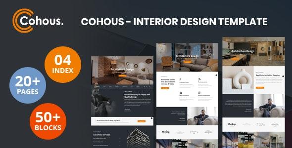 Cohous – Interior Design Template – 31139803 Free Download