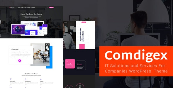 Comdigex – IT Solutions and Services Company WP Theme – 24063265 Free Download