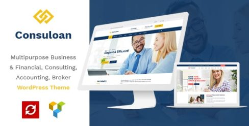 Consuloan | Multipurpose Consulting WordPress Theme – 21187200