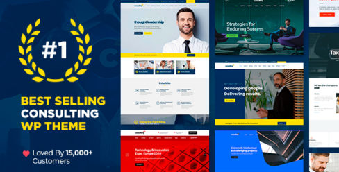Consulting – Business, Finance WordPress Theme – 14740561