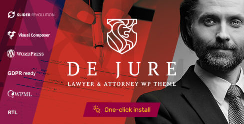 De Jure – Attorney and Lawyer WP Theme – 22453074