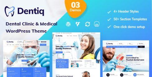 Dentiq – Dental & Medical WordPress Theme – 24399869
