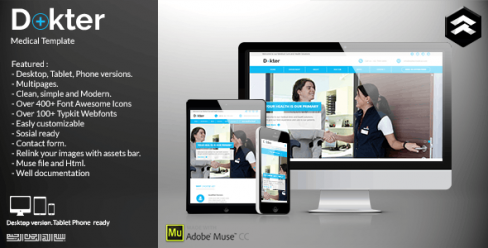 Dokter – Medical Muse Template – 11730087