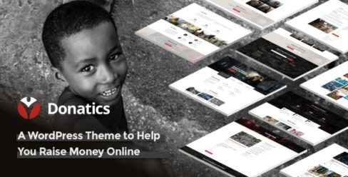 Donatics – Charity & Fundraising WordPress Theme – 23050797