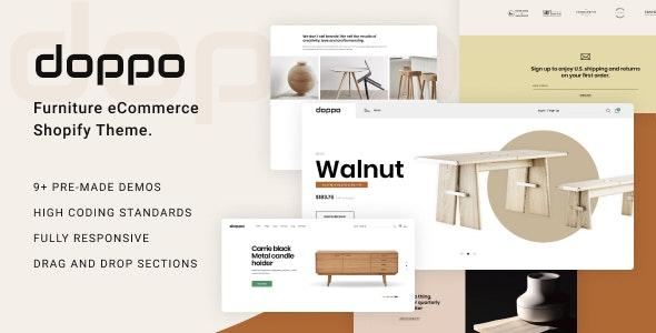 Doppo – Furniture Multipurpose Shopify Theme – 27299886 Free Download