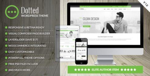 Dotted – Corporate Multipurpose WordPress Theme – 18442414
