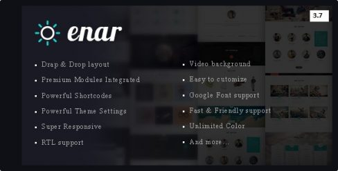 Enar – Multipurpose Drupal 8.7 Theme – 15855927