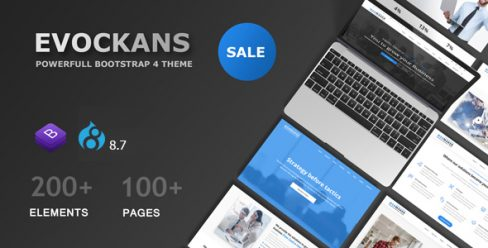 Evockans – Multi-Purpose Business Drupal 8.7 Theme – 22651844