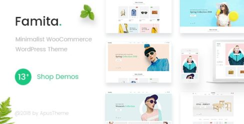 Famita – Minimalist WooCommerce WordPress Theme – 22308715