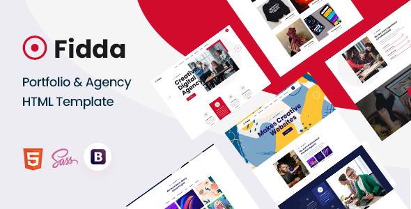Fidda – Portfolio & Agency HTML5 Template – 31127576 Free Download
