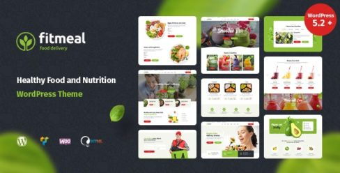 Fitmeal – Organic Food Delivery and Healthy Nutrition WordPress Theme – 24849067