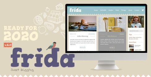 Frida – A Sweet & Classic Blog Theme – 10623362