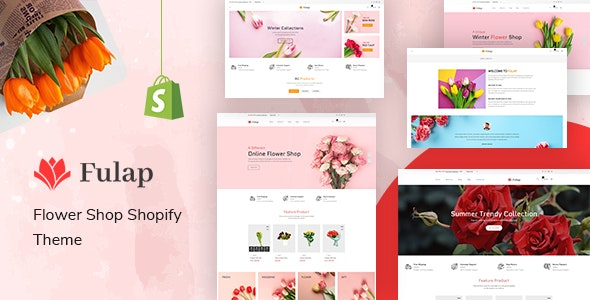 Fulap – Flower Store Shopify Theme – 31319651 Free Download
