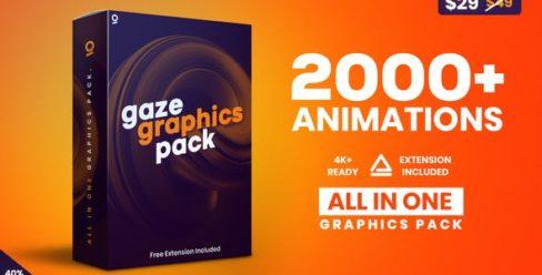 Gaze – Graphics Pack – 25010010