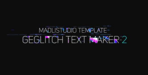 Ge Glitch Text Maker 2 – 19435893