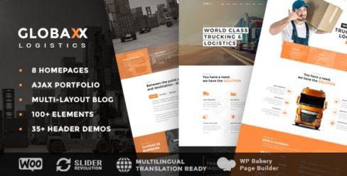 Globax – Logistics WordPress Theme + Woocommerce – 22380809