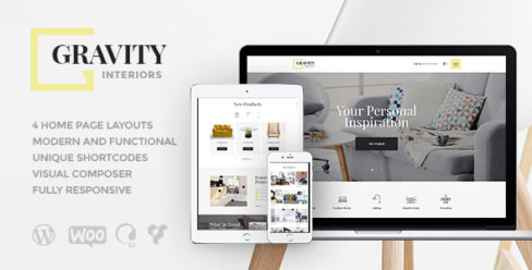 Gravity | A Contemporary Interior Design & Furniture Store WordPress Theme – 19894220