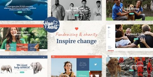 HaveHeart – Fundraising and Charity Theme – 25283995