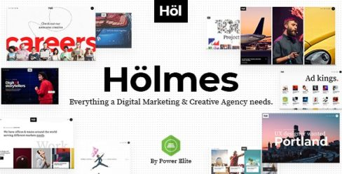 Holmes – Digital Agency Theme – 23240087