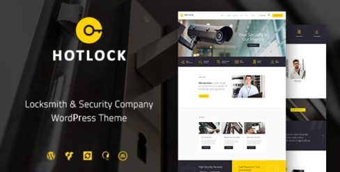 HotLock | Locksmith & Security Systems WordPress Theme – 20263603