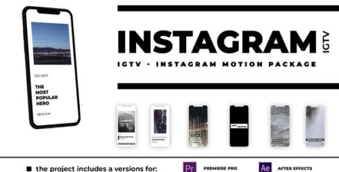 IGTV – Instagram Motion Package – 25254988
