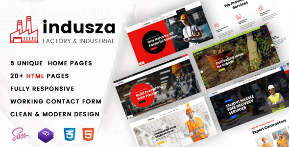 Indusza- Industrial & Factory – 29890520 Free Download