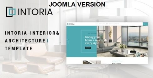 Intoria – Interior & Architecture Joomla Template – 24090175