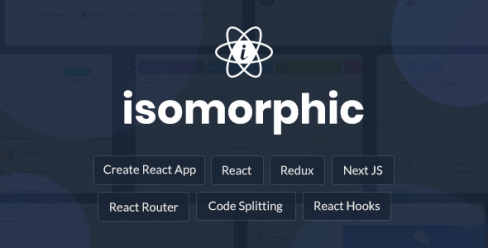Isomorphic – React Redux Admin Dashboard – 20262330