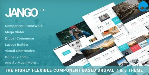 Jango | Highly Flexible Component Based Drupal 7 & 8 Theme – 18918715