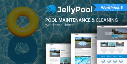 JellyPool – Pool Maintenance & Cleaning WordPress Theme – 20034360