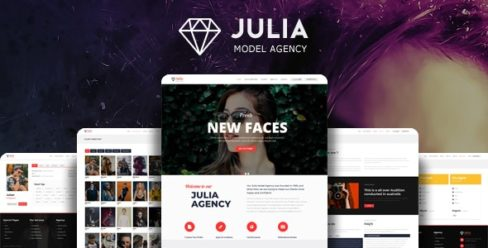 Julia – Talent Management WordPress Theme – 13291157
