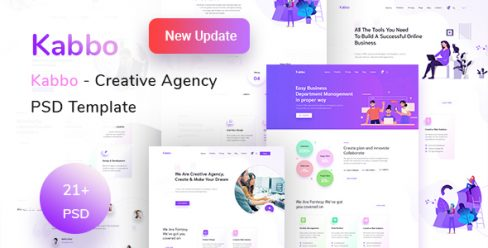 Kabbo – Creative Agency PSD Template – 22952730