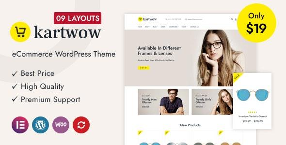 Kartwow Multipurpose WooCommerce Theme – 29912012 Free Download