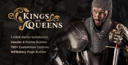 Kings & Queens | Historical War Medieval Reenactment WordPress Theme – 21866804