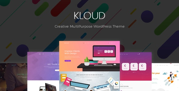 Kloud – Creative Multipurpose WordPress Theme – 21298748 Free Download