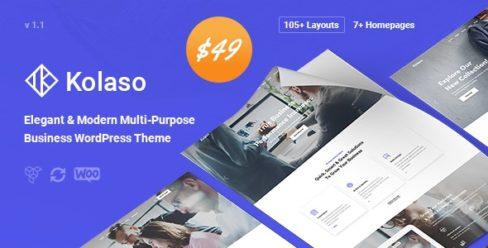 Kolaso – Modern Multi-Purpose WordPress Theme – 23321406