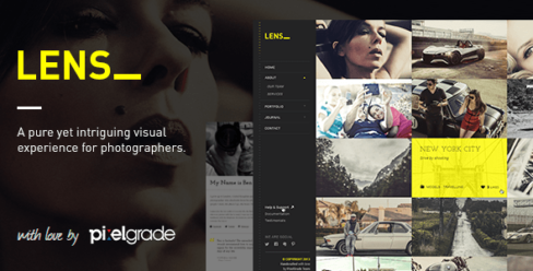 LENS – An Enjoyable Photography WordPress Theme – 5713452