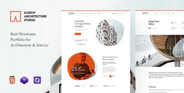 Liarch – Architecture & Interior HTML Template – 30325598 Free Download