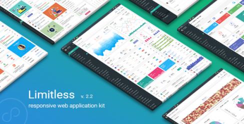 Limitless – Responsive Web Application Kit – 13080328