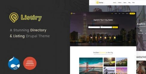 Listiry – Directory & Listing Drupal 8 Theme – 23224257