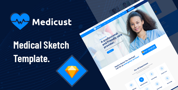 Medicust – Health and Medical Sketch Template – 28511624 Free Download