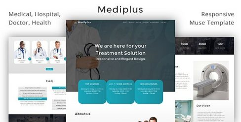 Mediplus _ Medical / Hospital / Doctor / Health Muse Template – 20960050