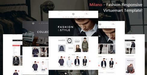 Milano – Fashion Responsive Virtuemart Template – 19027473