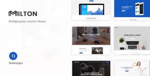 Milton | Multipurpose Creative WordPress Theme – 20351024