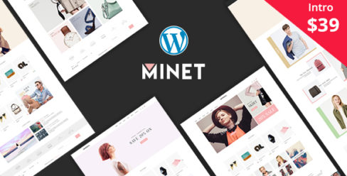 Minet – Minimalist eCommerce WordPress Theme – 20908707
