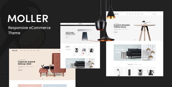 Moller – Furniture & Decor WooCommerce WordPress Theme – 31018303 Free Download